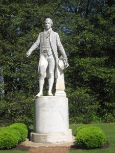 Monroe statue, Ashlawn-Highland