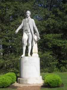Monroe statue, Ashlawn-Highland