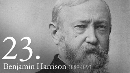 Happy Birthday President Harrison! (Benjamin Harrison, that is)