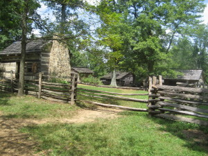 Historical farm near the Lincoln site