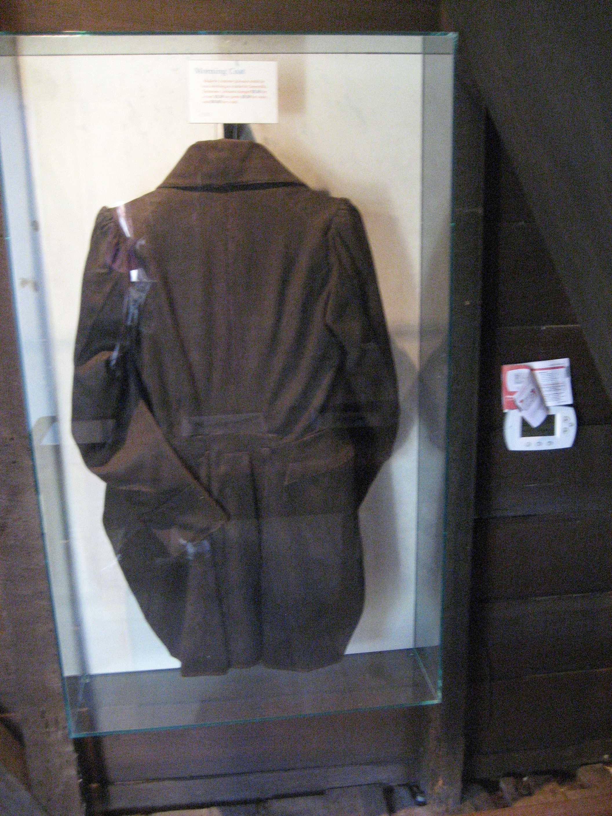 Coat created by Andrew Johnson (Johnson house, Raleigh, NC)