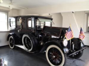 President Wilson's car