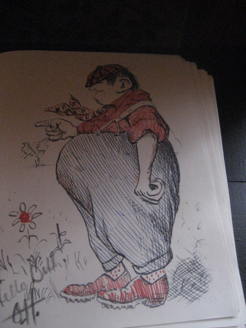 O. Henry drawing
