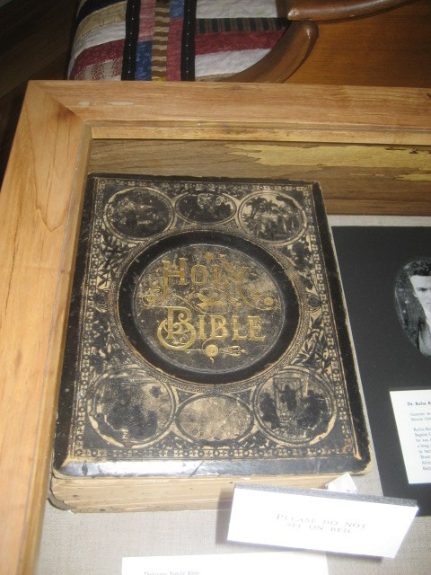 Susanna Dickinson's Bible