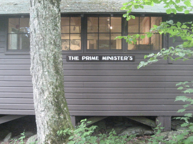 The Prime Minister's cabin in honor of British Prime Minister Ramsay McDonald who spent a week here with his daughter