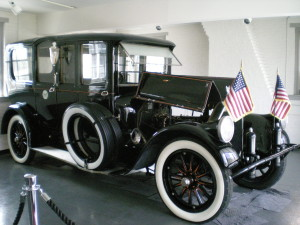 1919 Pierce-Arrow limousine. Woodrow Wilson museum, Staunton, Virginia