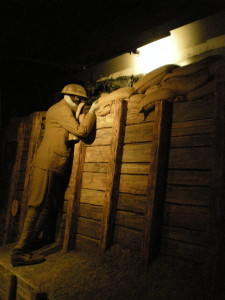 In the trenches, World War I bunker at Woodrow Wilson Presidential Library, Stanton, Virginia (March 2013)