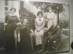 President Wilson and his family