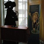Radio broadcast exhibit, Wilson Presidential Museum, Virginia