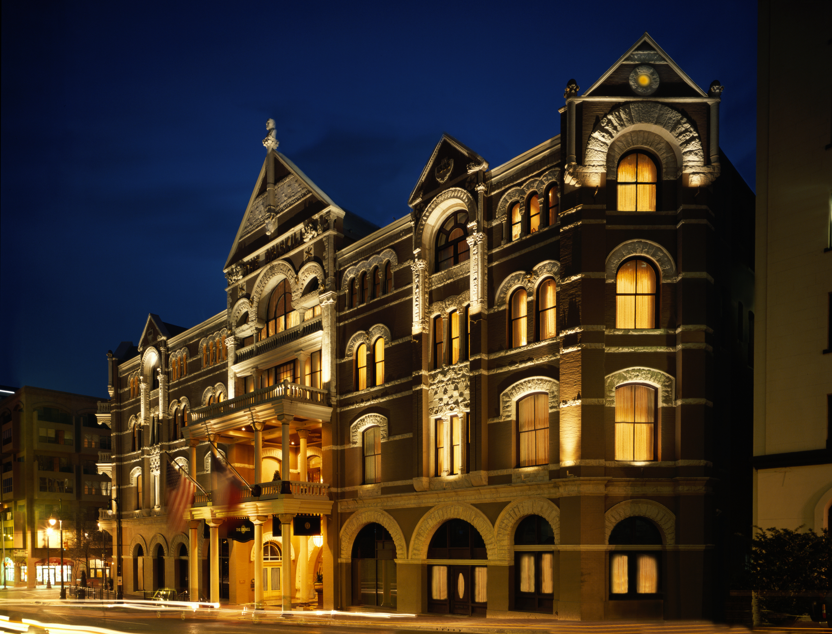 You can really see the Romanesque-style architecture here. Photo courtesy of the Driskill hotel