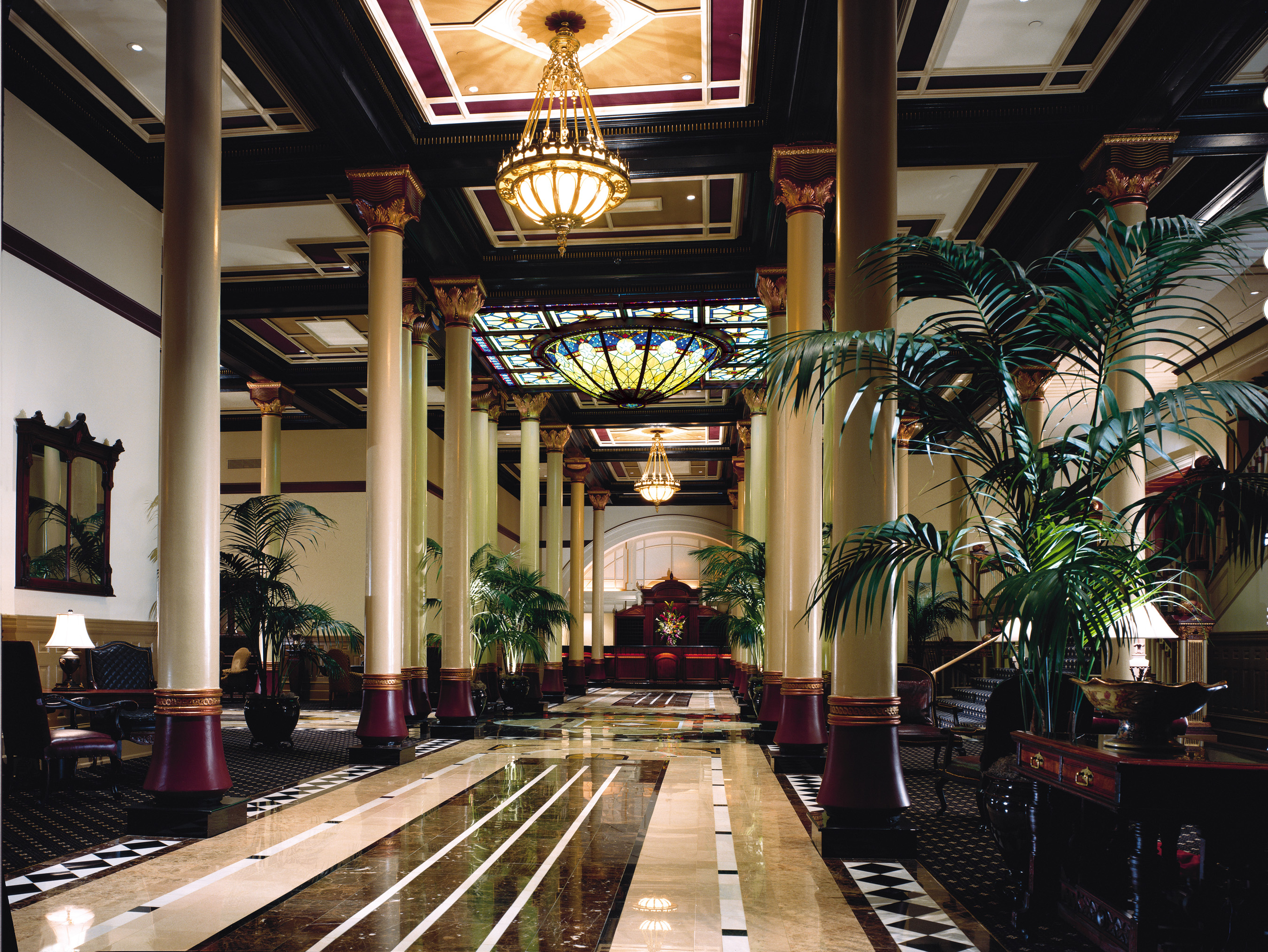 That's quite a lobby! Photo courtesy of the Driskill hotel