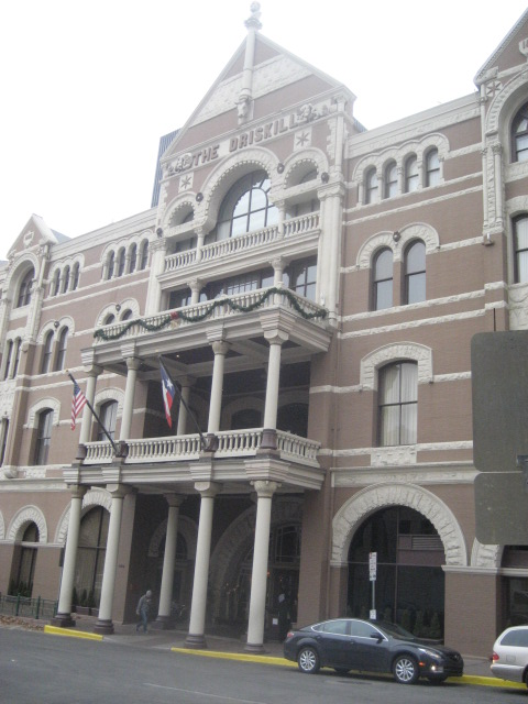 The Driskill in Austin, Texas