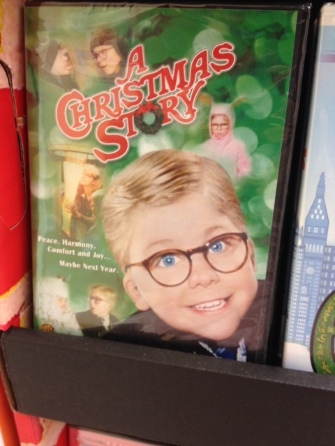 Here's the movie, for sale at my local grocery store