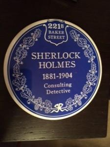 "Sherlock Holmes ""historic"" blue plaque"