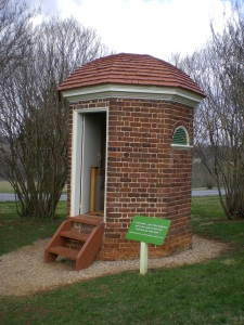Here's the other octagonal privy