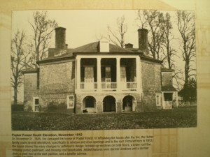 Historic photo of Poplar Forest