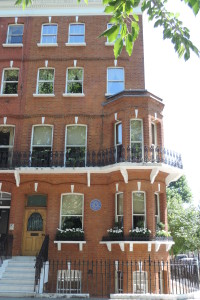 Mark Twain house, Tedworth Square, London