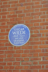 Oscar Wilde's house, Chelsea, London