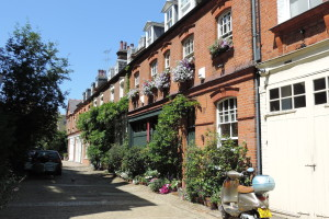 Charming streets of Chelsea