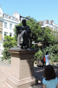 Carlyle statue, Chelsea, London