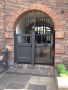 Arched gates in Chelsea, London