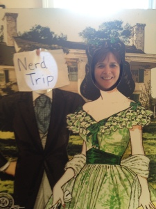 """You can """"try on"""" a dress like Scarlett O'Hara at the Margaret Mitchell House in Atlanta"""