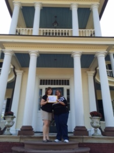 Belle Grove plantation with B&B owner and blogger Michelle Darnell