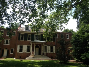 Wheatland, home of President James Buchanan in Lancaster, PA (June 2014)
