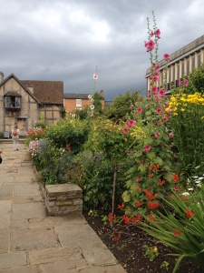 Shakespeare's birthplace, Stratford-on-Avon (July 2014)