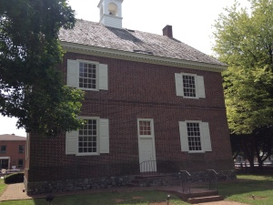 Reconstructed colonial capitol in York, Pennsylvania
