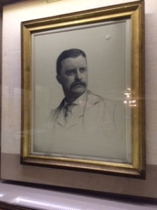 Portrait of TR from Theodore Roosevelt birthplace (New York City, September 2014)
