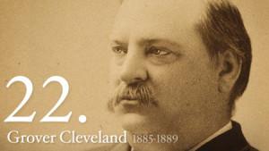 Grover Cleveland, from whitehouse.gov