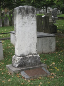 Graves of Aaron Burr Sr and Jr, Princeton Cemetery