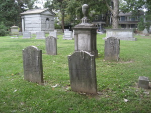 Cleveland family plot, Princeton Cemetery