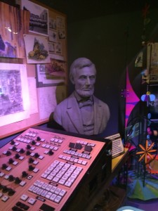 Imagineering workshop and Animatronic Abe's programming console