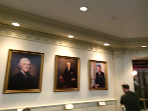 Presidential portraits, Hall of Presidents