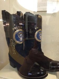 George W. Bush's presidential cowboy boots