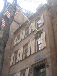 Theodore Roosevelt birthplace, E. 20th Street, New York City