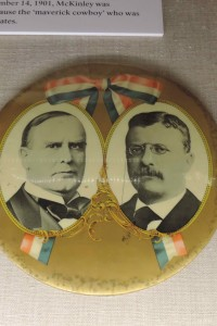 Here's a campaign button for the McKinely-Roosevelt ticket