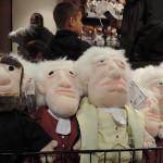 Pouty plush toys at Nationals Park