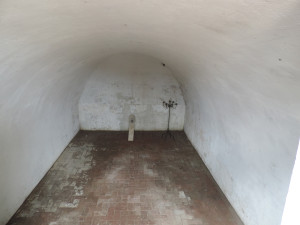 Inside the public vault at Congressional Cemetery, Washington, D.C.