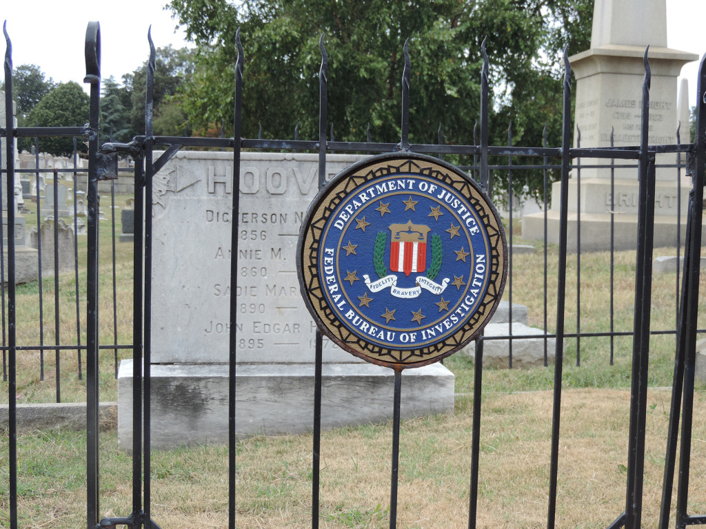 Grave of J. Edgar Hoover, Congressional Cemetery, Washington, D.C.
