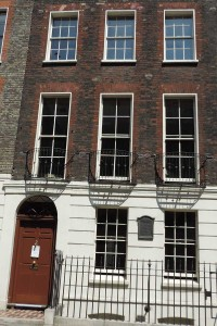 Ben Franklin house, London (July 2013)