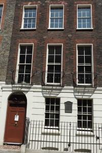 Ben Franklin house, London (July 2013)