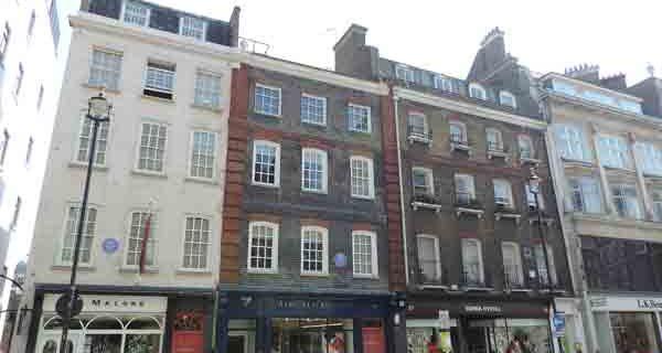 Handel-Hendrix houses. London